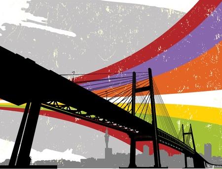 bridge Stock Vector - 9758576