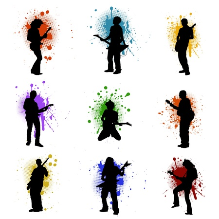 guitarists: grunge music