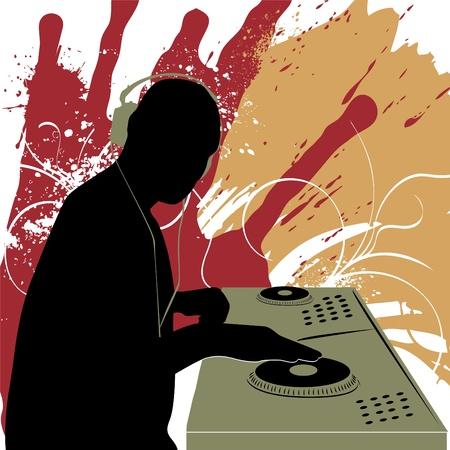 dj equipment: dj vector  Illustration