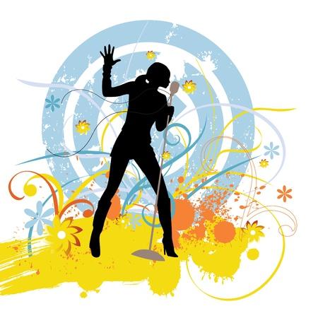 female singer: singer