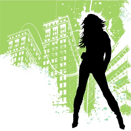 legs sexy: fashion woman  Illustration