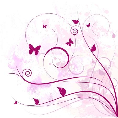 floral design Stock Vector - 9772859