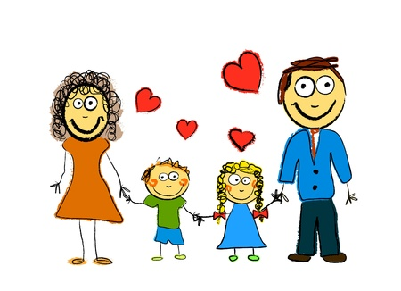 animation: Cute Family