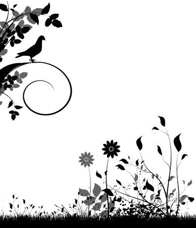 floral design  Stock Vector - 9878306