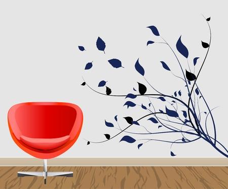 wall decoration  Vector