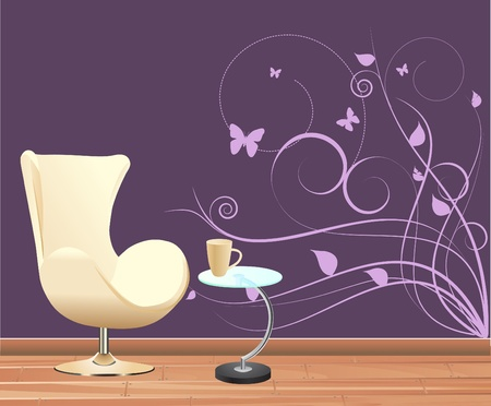 wall decoration  Stock Vector - 9932196