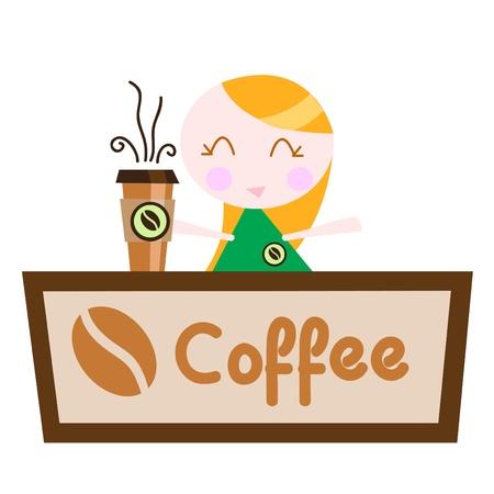 coffee shop Stock Vector - 10035021