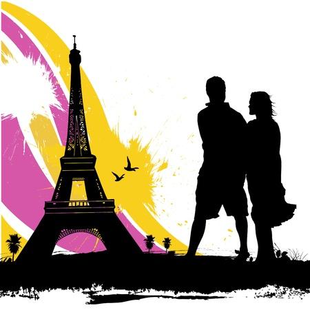couple love  Stock Vector - 10035051