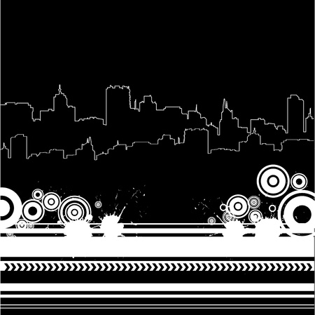 retro city Stock Vector - 10103076