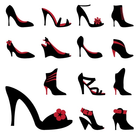 woman accessories: fashion woman shoes
