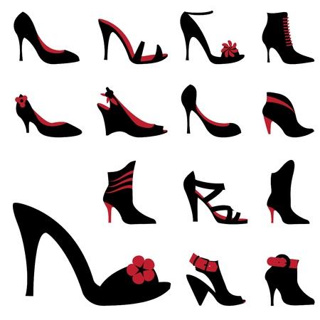 heels: fashion woman shoes
