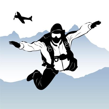 gliding: paragliding
