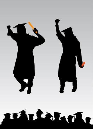 high end: graduation