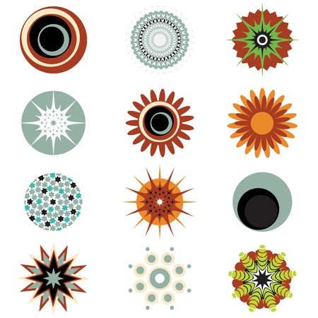 abstract design elements Stock Vector - 10182918