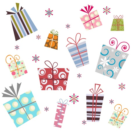 colour box: gift background