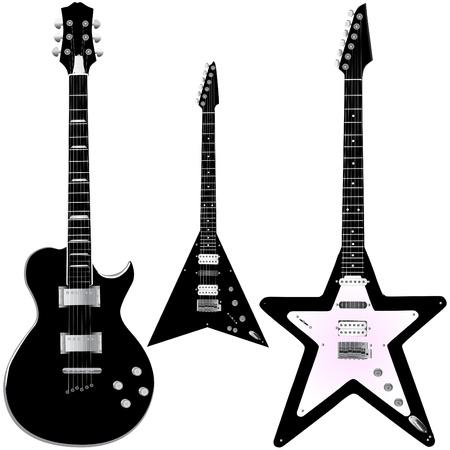 musical symbol: guitars