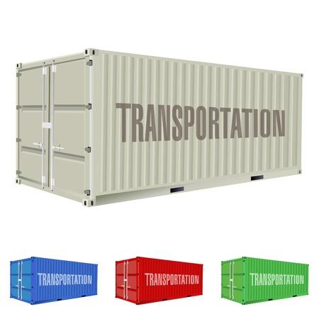 freight container: contenedor de carga