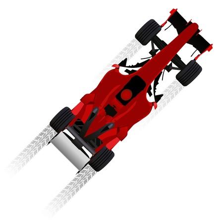 Formel-Rennwagen