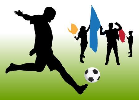 soccer fun  Vector
