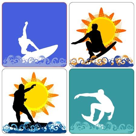 surfing Vector