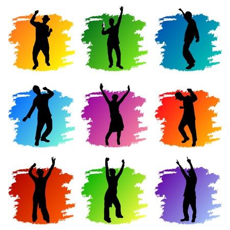 ballet hombres: Partido Popular de conjunto