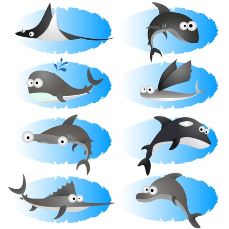cartoon fishes Stock Vector - 10330685
