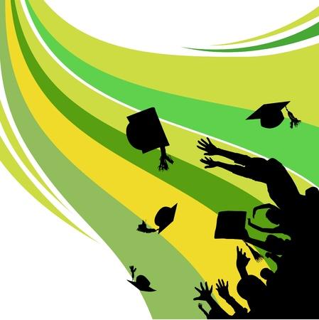 fondo de graduacion: graduación
