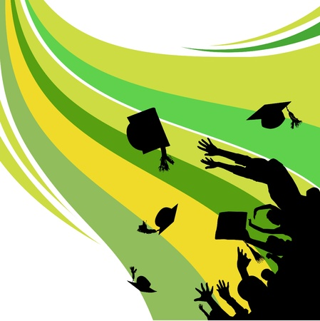 graduation  Stock Vector - 10505083