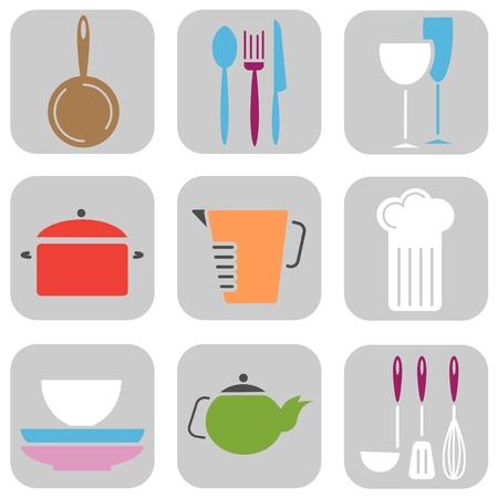 kitchen tool: kitchen tool icons