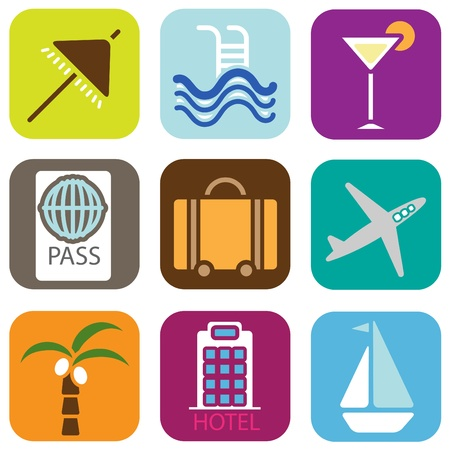 holiday icons Stock Vector - 10560555