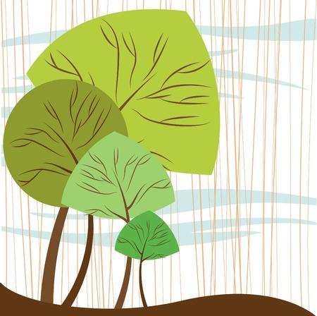 plant tree: abstract trees