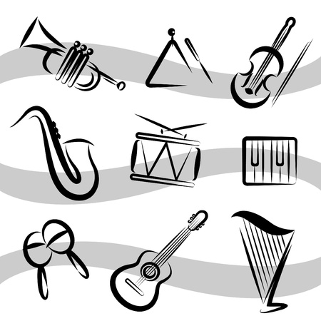 percussion: music instruments