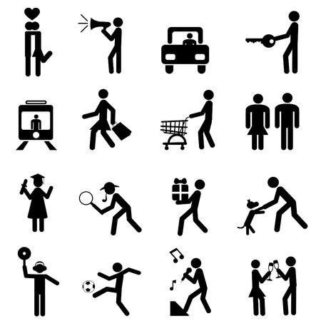 pictogramme: pictogramme de personnes