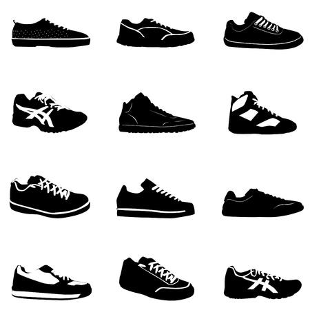 heels: sport shoes