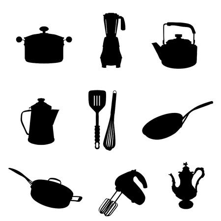 coffeepot: kitchen utensil