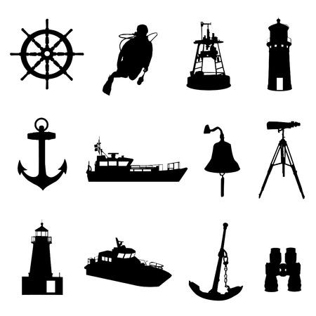 at anchor: conjunto de N�utica
