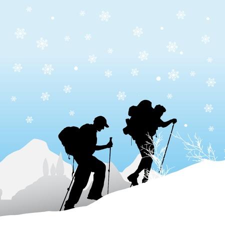 mountain climber: alpinista