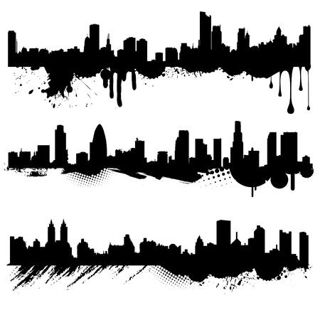 side effect: grunge city  Illustration