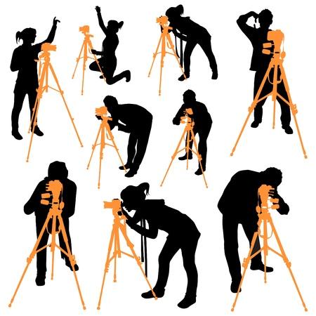 photographers Vector