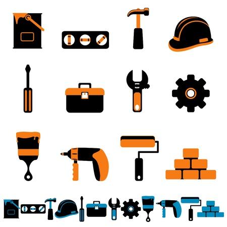 tools big set Stock Vector - 11155523