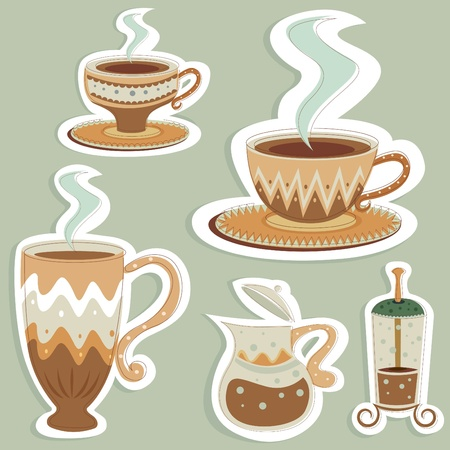 coffee designs vector  Vector