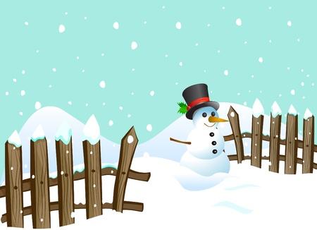 snowman  Stock Vector - 11518987