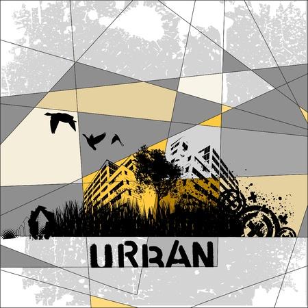 stedelijke vector