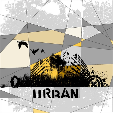 urban people: urban vector