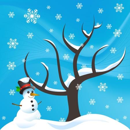 snowman Stock Vector - 11519058