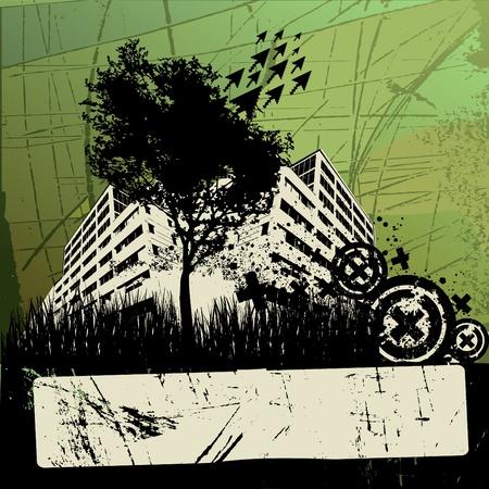 grunge urban design Stock Vector - 11519052