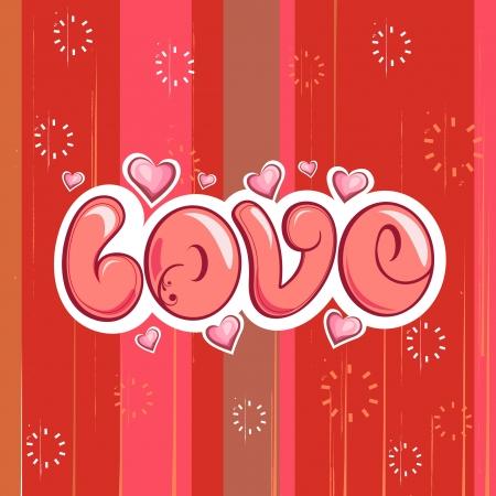 Love Background Stock Vector - 25319545