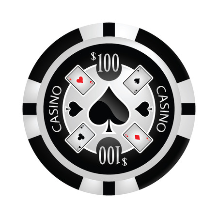poker chip: Casino, dise�o Poker chips vector