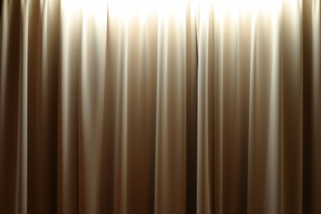 Lights on Curtain