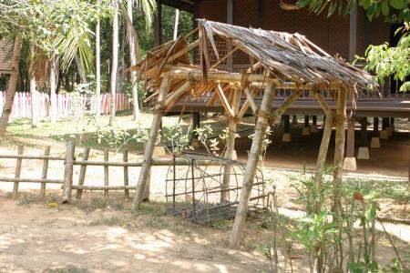 malay village: Mini Bamb� Hut